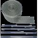 Kit bandaj Cycle termica negru inox 51mm x 7,6m